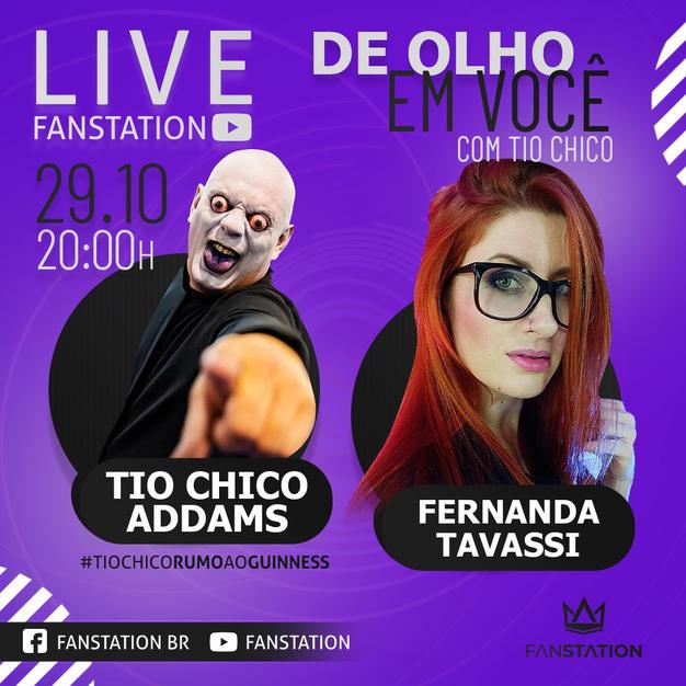 Tio Chico & Fernanda Tavassi