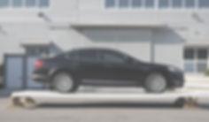 Car loading on top of 100mm LitePan