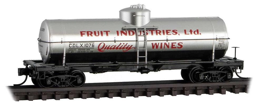 Micro Trains Line 6500116, Carro cisterna  39' Fruit Industries CDLX 1076