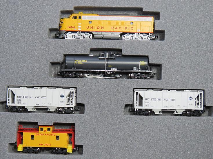 Kato 1066272, set tren de carga EMD F7 Union Pacific, DC