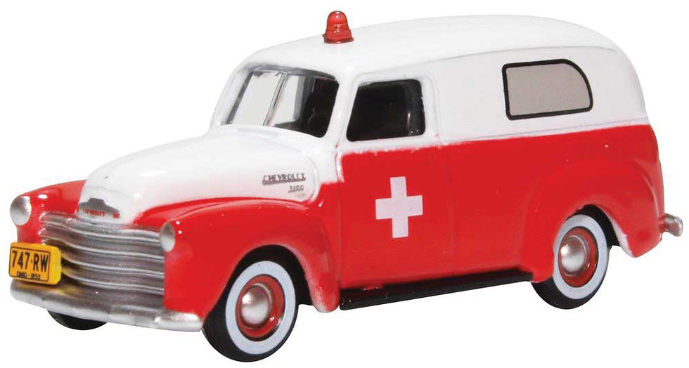 Oxford, ambulancia Chevrolet 1950-1960