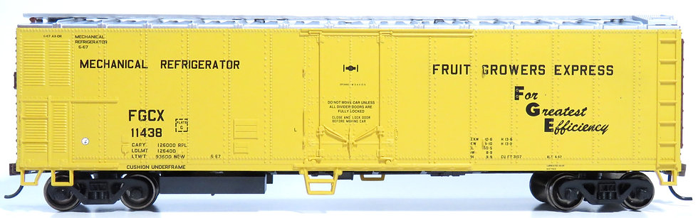 Athearn RND71671, 50' Smooth Side Mechanical Reefer, FGE #11438