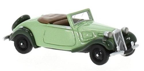 BOS 87730, Citroen Traction Avant Cabriolet, verde 1936