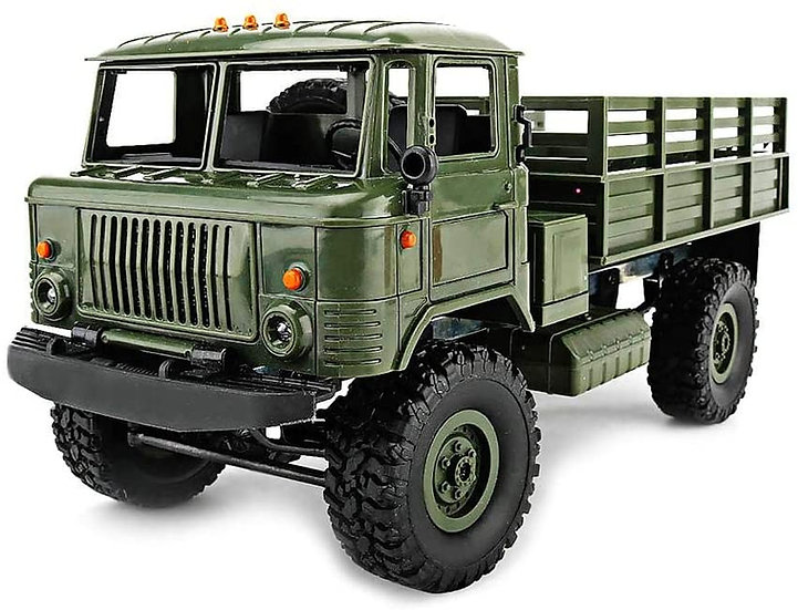 WPL B24, 1/16 Military Command Truck  4WD RTR