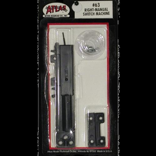 Atlas 63. Manual switch machine - Derecho