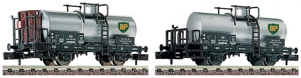 Fleischmann 881906. Set de 2 carros cisternas BP