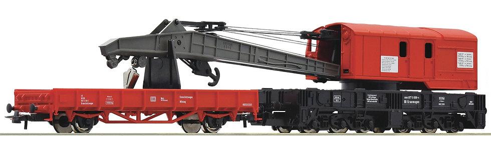 Roco 56240, Grúa y vagón DB AG