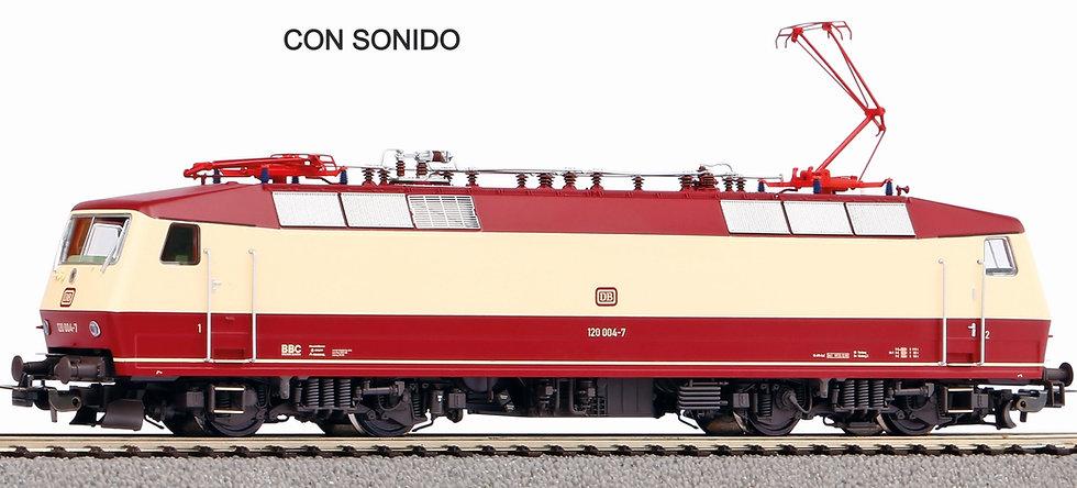 Piko 51332, Locomotora eléctrica BR120, DB, época IV [DCC + SONIDO]