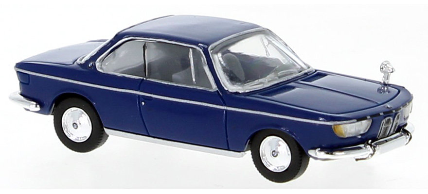 Brekina PCX870030, BMW 2000 CS, azul, 1965