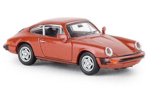 Brekina 16319, Porsche 911 G, metallic-rosa, Jägermeister, TD, 1976