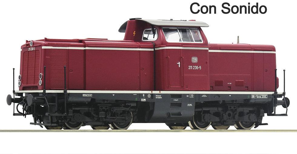 Roco 52527, Locomotora diésel BR 211, DB, Ép IV [Con Sonido]