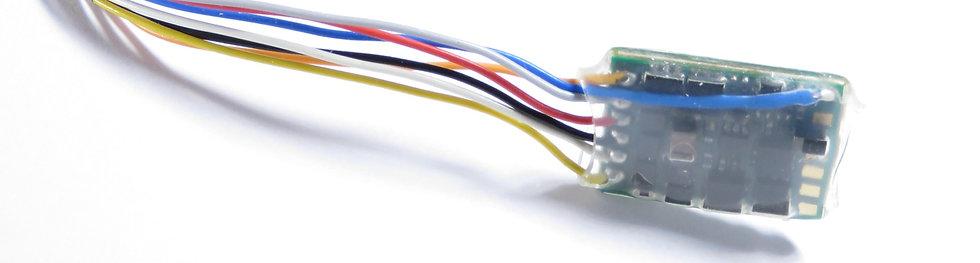 Decoder Zimo MX617 con cables sueltos