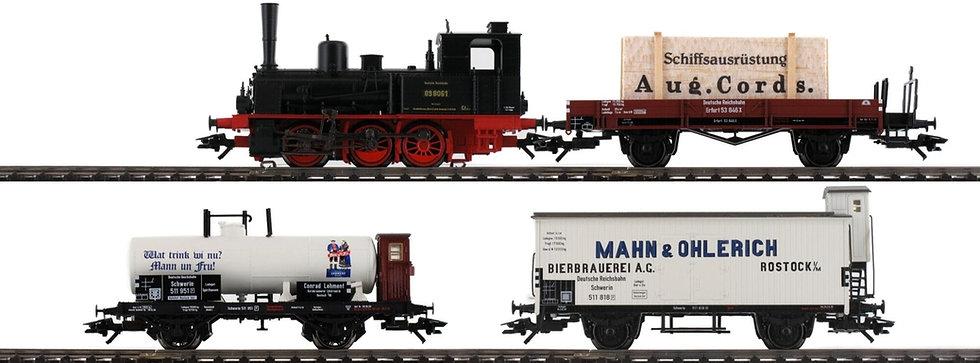 MÄRKLIN 26614. Set de tren BR 89, DRG, época II [DIGITAL CON SONIDO]