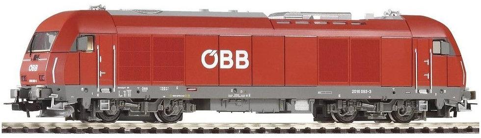 PIKO 57580. Locomotora Hércules Rh2016  OBB