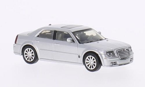 Brekina Rik38462, Chrysler 300C HEMI SRT8, plateado, 2005