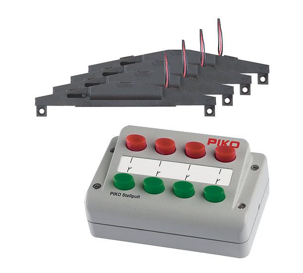 Piko 55392, Control de desvíos + 4 bobinas