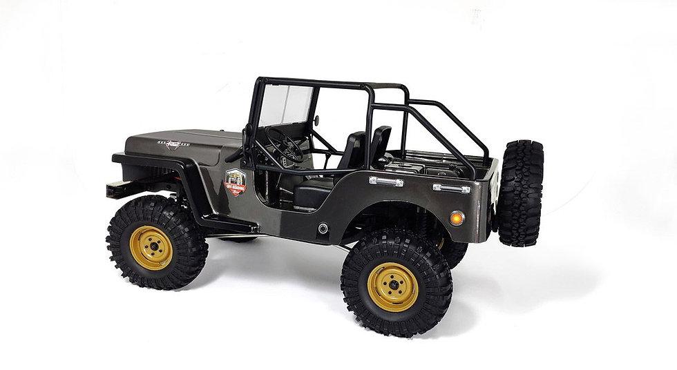 RGT 86010CJ, 1/10 Crawler Jeep 4WD RTR, gris