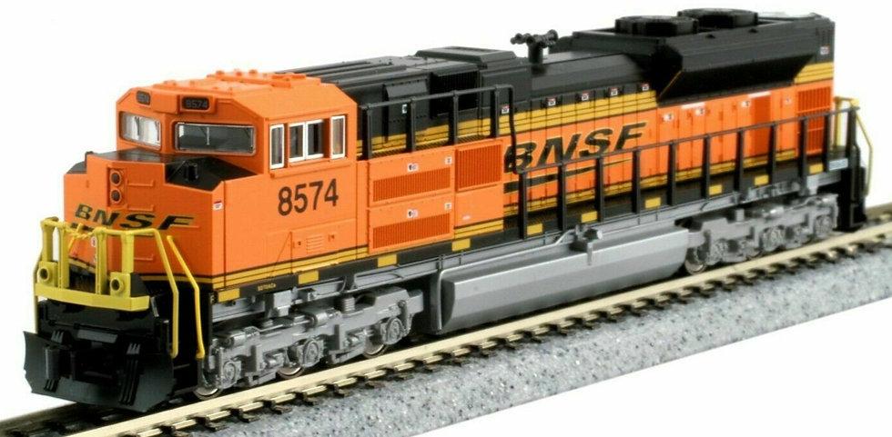 """Kato 1768525, EMD SD70ACe BNSF """"Swoosh"""" Nose HL #8574"""