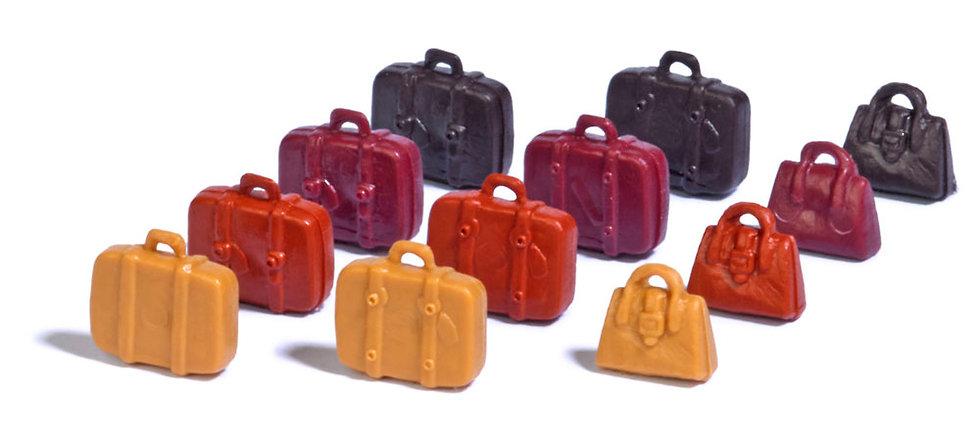 Busch 7795, 12 maletas y bolsos HO