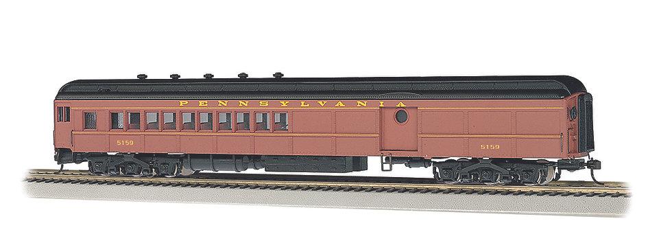 Bachmann Silver 13607, PRR POSTWAR #5159 72' COMBINED COACH