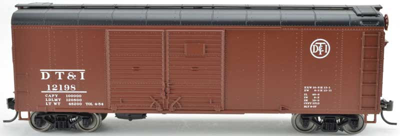 Bowser 42322, Boxcar DT&I Double Door flush
