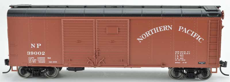 Bowser 42325, Boxcar Northern Pacific Double Door flush