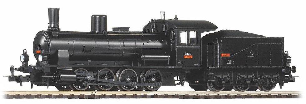 PIKO 57561. Locomotora a vapor BR 413 (G7.1), CSD, época III