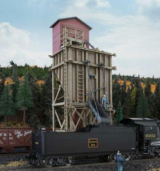 Walthers 4202, Torre de carga de carbón y depósito