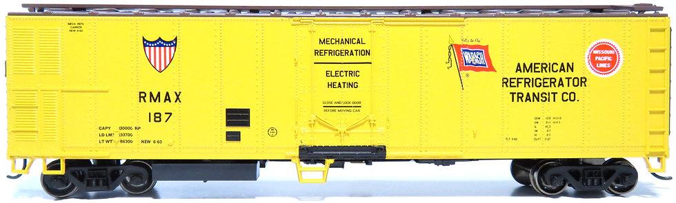 Athearn RND71677, 50' Smooth Side Mechanical Reefer,ART/RMAX #187
