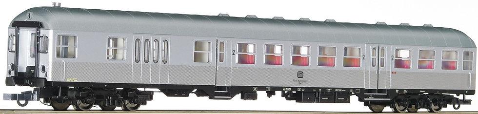 """Roco 74590, Coche cabina 2° clase """"Silberling"""", DB, época IV"""
