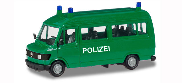 "Herpa 94139, Mercedes-Benz T1 bus ""Police"""