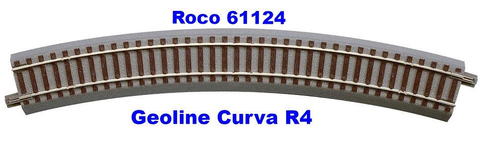 ROCO 61124, Curva Geoline tipo R4