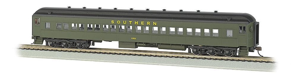 Bachmann Silver 13706, SOUTHERN #1050 72' HEAVYWEIGHT COACH