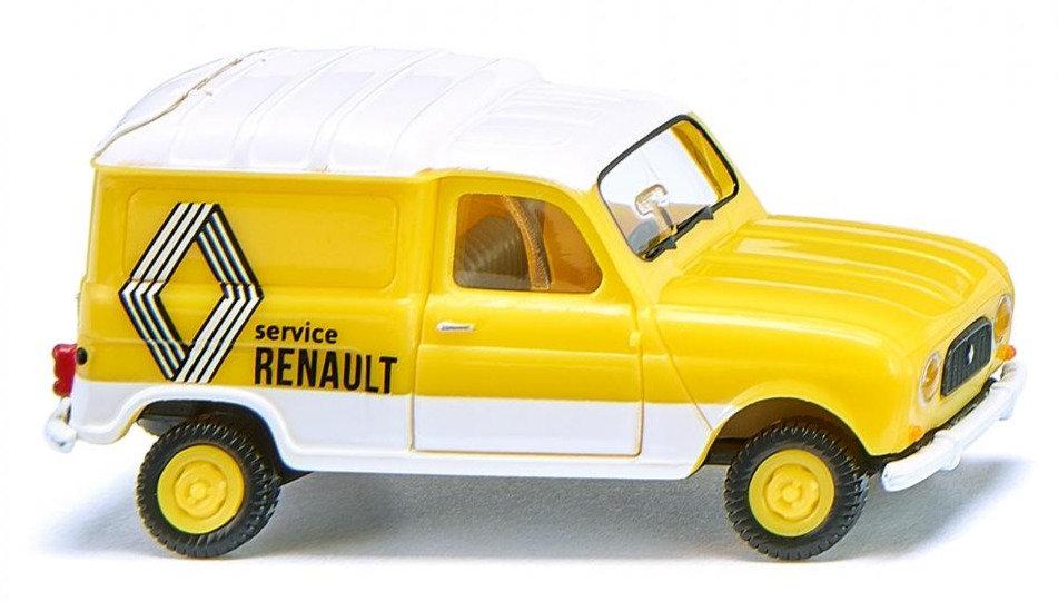"WIKING 022503, Renault R4 Kasten  ""Renault Service"""