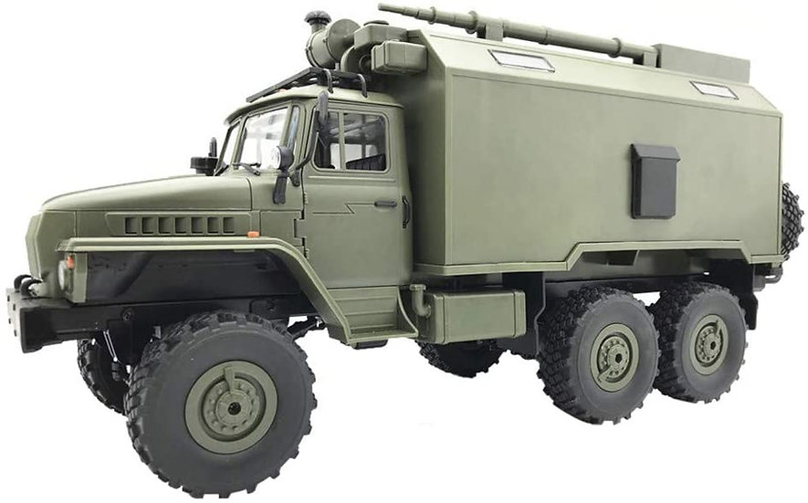 WPL B36, 1/16 Military Command Truck  6WD RTR