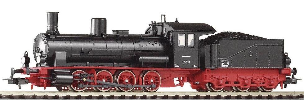 PIKO 57550. Locomotora a vapor BR 55 (G7.1), DB, época III