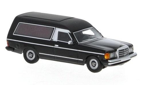BOS 87685, Mercedes W123 Coche fúnebre, negro, 1977