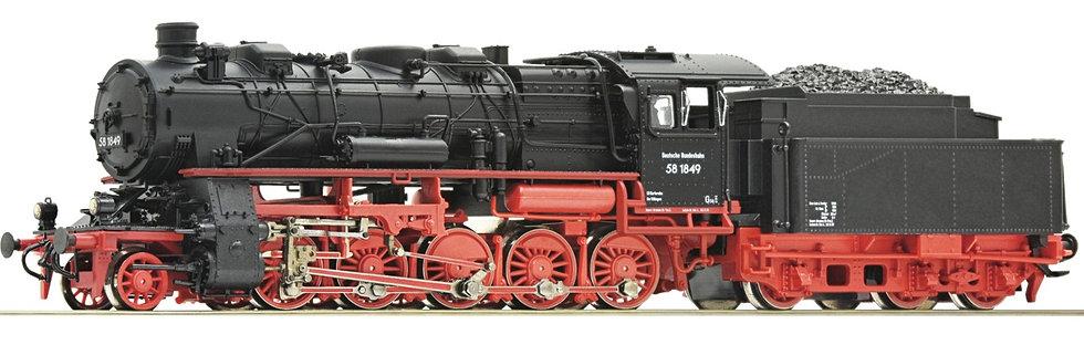Roco 71922, Locomotora a vapor serie 58, DB, época III