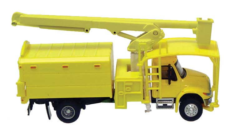 Walthers 11743, International(R) 4300 2-Axle Truck with Tree Trimmer Bo