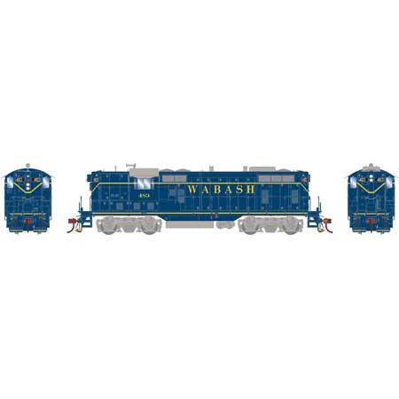 ATHEARN GENESIS 78161. Loc diésel GP7, Wabash/Blue #483