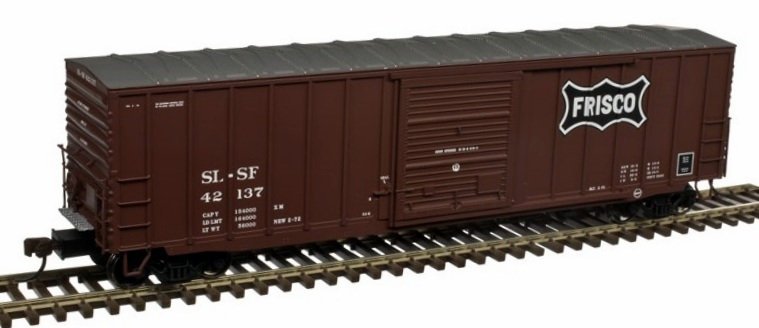 Atlas 4761, box car 50' , FRISCO