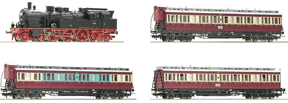 """Roco 61477, Juego de 4 piezas: """"Ruhr Schnellverkehr"""", DRG"""