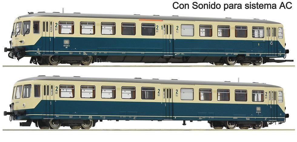 Roco 78083, Automotor clase 515, DB, época IV [DCC + SONIDO]