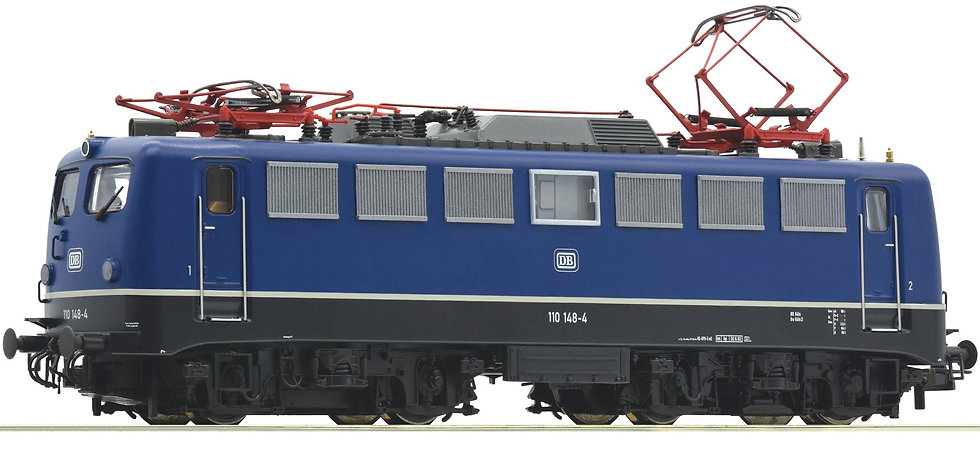 Roco 73074, Locomotora eléctrica 110 148-4, DB, época IV