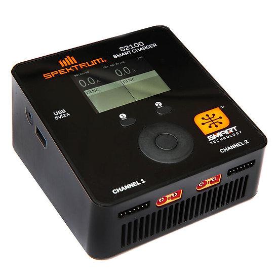 Spektrum SPMXC1010, S2100 AC Charger, 2x100W