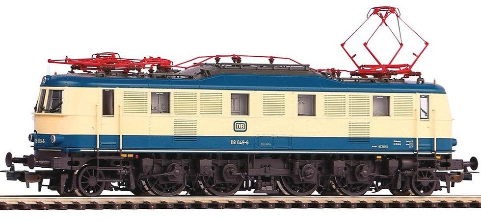 PIKO 51866, Locomotora eléctrica BR118, DB, época IV