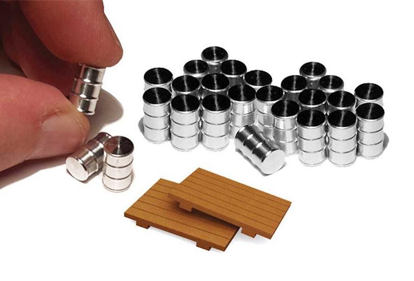 Proses HLK07, Pack 24 tambores aluminio y 2 pallets