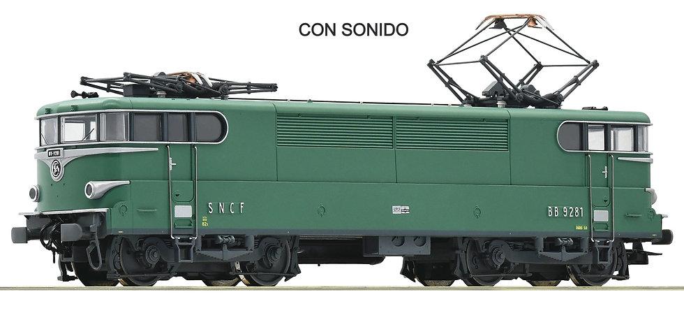 Roco 73049, Locomotora eléctrica BB 9200, SNCF, época IV [DCC + SONIDO]