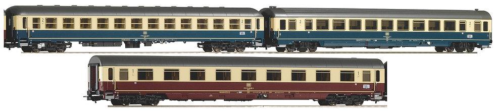 Piko 58387, Set de 3 coches IC, DB, época IV