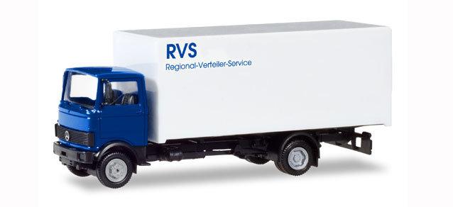 "Herpa 309585, Mercedes-Benz 813 box truck ""RVS"""